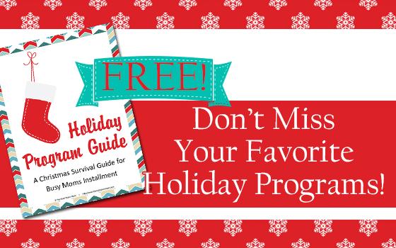 Holiday Program Guide