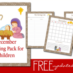 December Children's Planning Pack – Updated