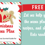 Christmas Menu, Cooking, and Recipes