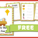 Nativity Themed PreK Fun Pack FREE