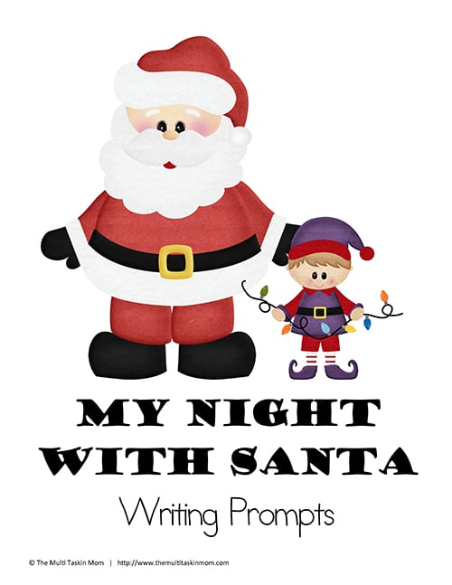 My Night With Santa Writing Prompt