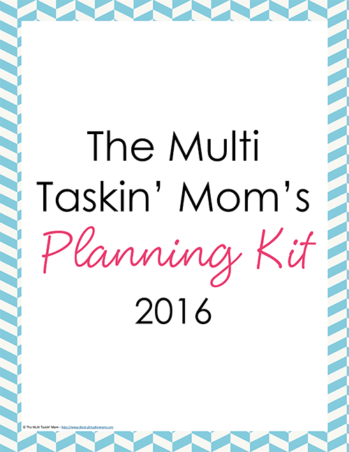 The Multi Taskin Mom Planner 2016-1