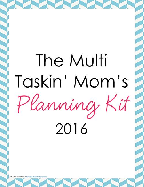 The Multi Taskin Mom Planner 2016-1