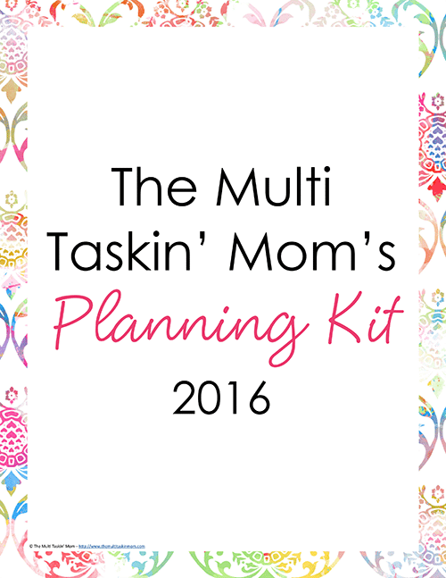 The Multi Taskin Mom Planner 2016 - Watercolor-1