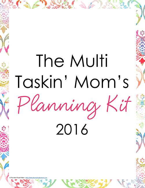 The Multi Taskin Mom Planner 2016 - Watercolor-1