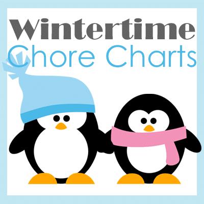 Wintertime Chore Charts