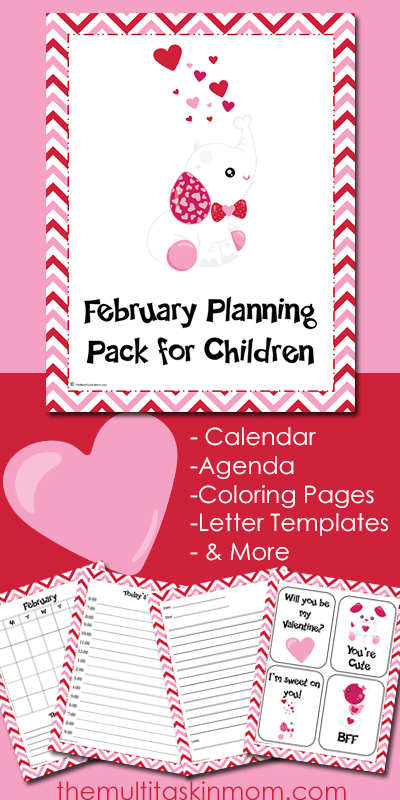 February Planning Pack 2016