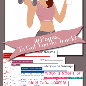 Did you set new goals for this year? Grab these FREE Personal Goal Tracking Worksheets to get started and keep you on track all year long! :: www.themultitaskinmom.com