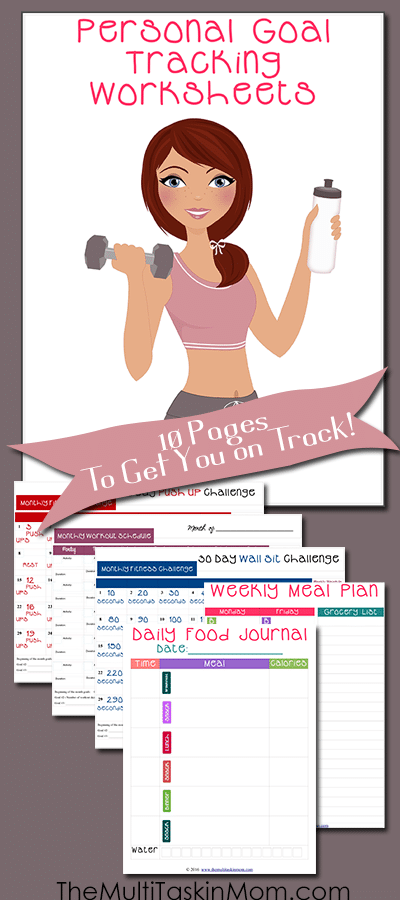 Personal Goal Tracking Worksheets to Help You Get On Track in 2016