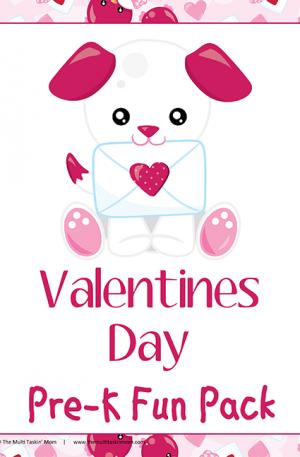 Valentines Day Pre-K Fun Pack