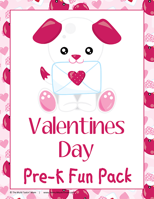 Valentines Day PreK Fun Pack-1
