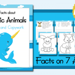 Color and Copywork: Facts about Arctic Animals