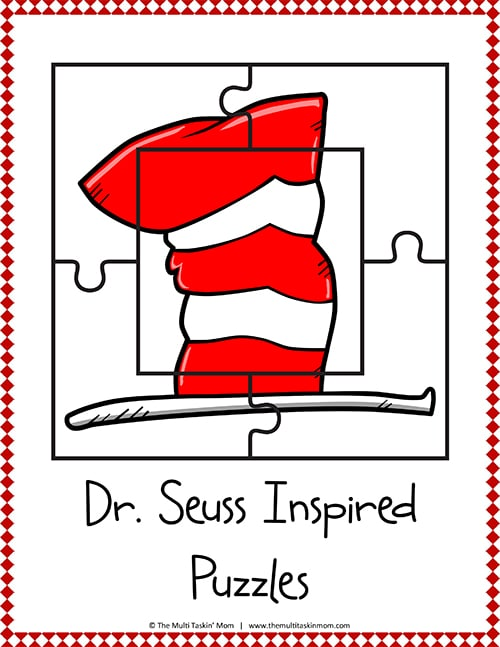 Seuss Inspired Puzzles