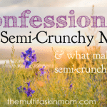 Confessions of a Semi-Crunchy Mom
