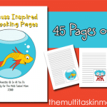 Dr. Seuss Notebooking Pages {NEW Subscriber Freebie}