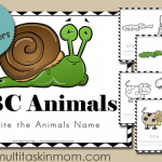 ABC Animals Write their Name