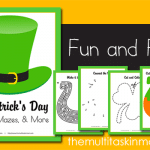 FREE St. Patrick's Day Puzzles, Mazes, and MORE