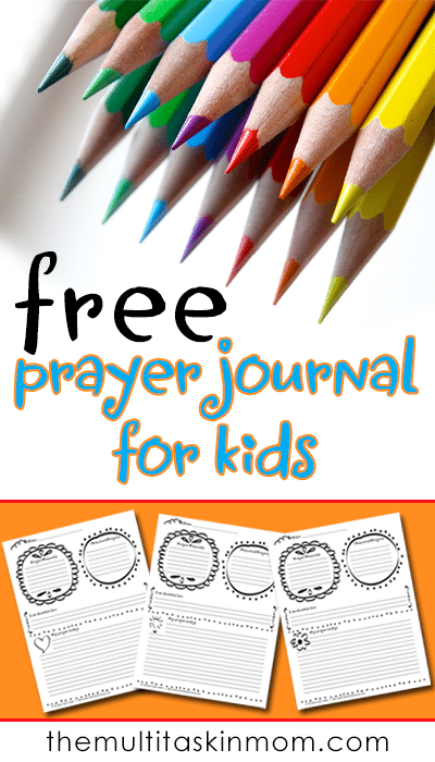 Grab your FREE Prayer Journal for Kids