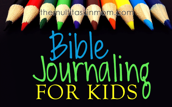 Bible Journaling for Children
