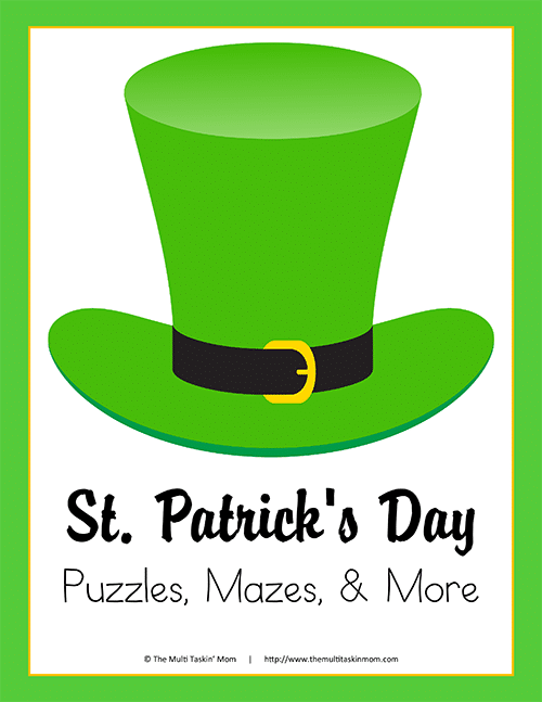 St. Patricks Day Fun and Puzzles