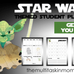 Star Wars Themed Student Planner