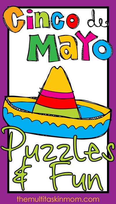 Cinco de Mayo Themed Puzzles and Fun