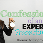 Confessions of an Expert Procrastinator