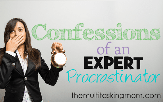 Confessions of an Expert Procrastinator