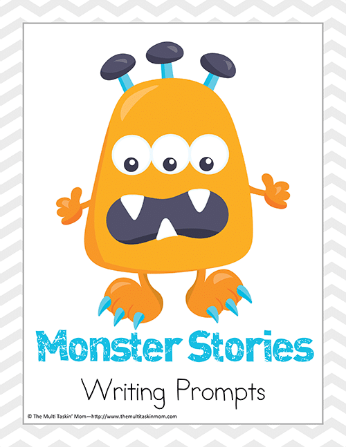 Monster Stories Writing Prompts-1