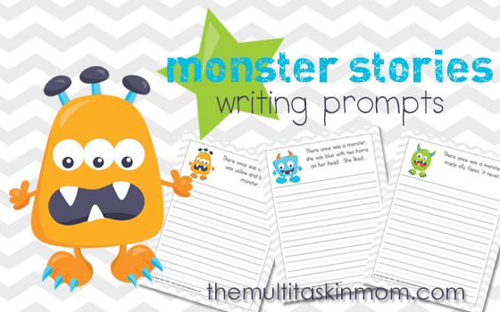 Monster Stories – Writing Prompts