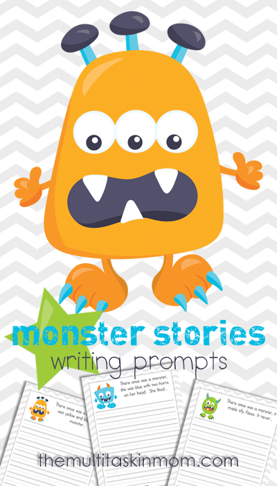 Monster Stories Writing Prompts fun prompts for your students
