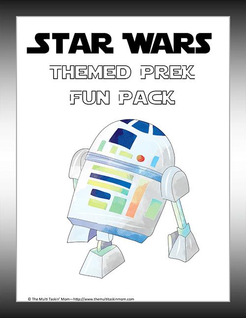 Star Wars Prek Fun Pack