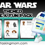 Star Wars Themed Pre-K Fun Pack