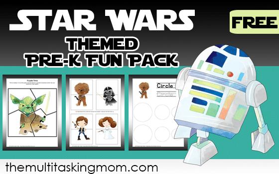 Star Wars Themed Pre-K Fun Pack