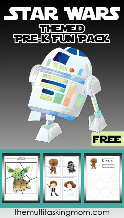 Star Wars Themed PreK Fun Pack