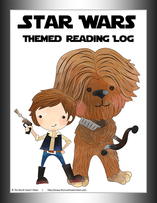 Star Wars Themed Reading Log-1