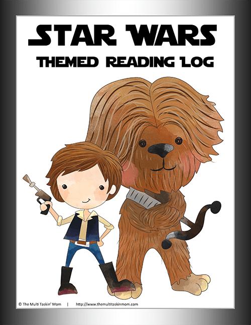 Star Wars Reading Logs