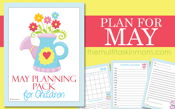 children may planning pack