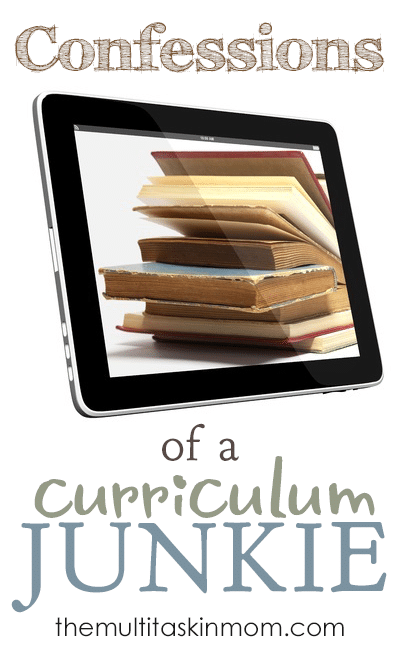Confessions of a Curriculum Junkie Who isnt Looking For Help