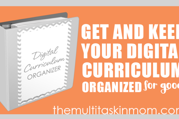 Digital Curriculum Organizer 2016