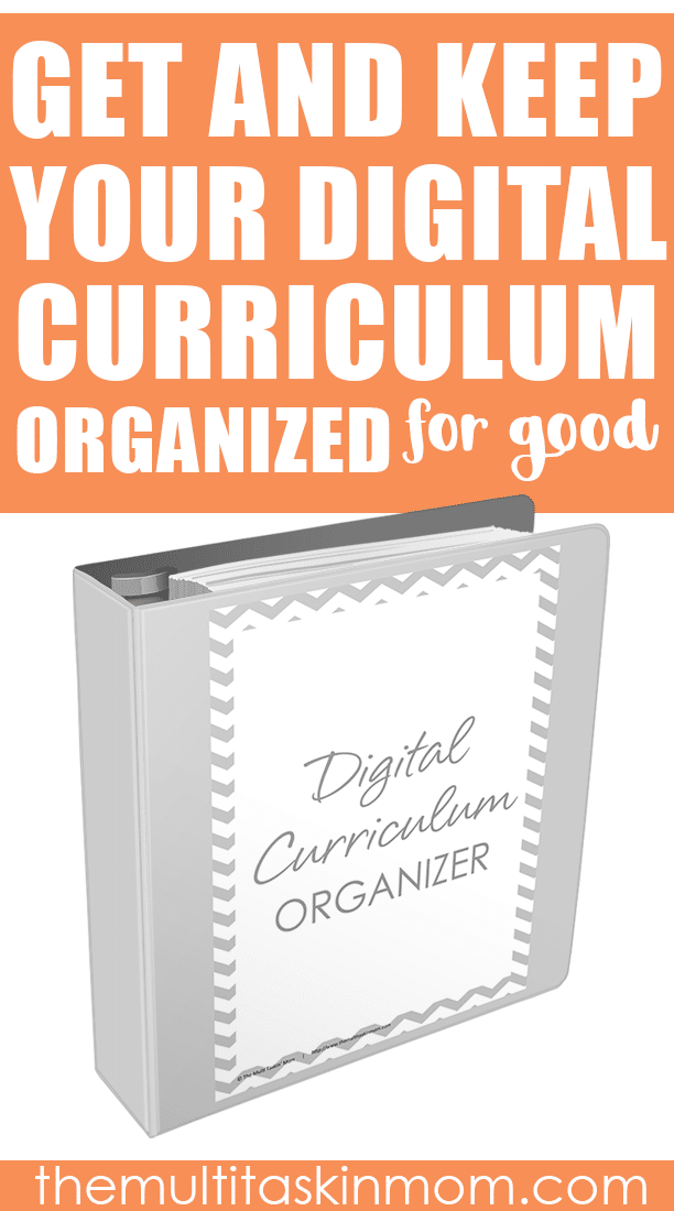 This digital curriculum organizer gets and keeps your digital curriculum organized for you