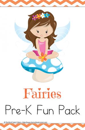 Fairy Themed PreK Fun Pack