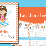 Fairy Themed Pre-K Fun Pack