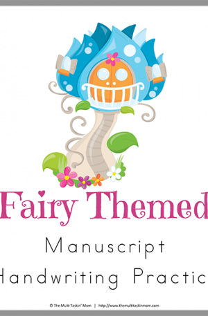 Fairy Themed Handwriting