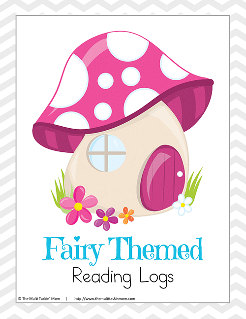Fairy Themed Reading Log-1