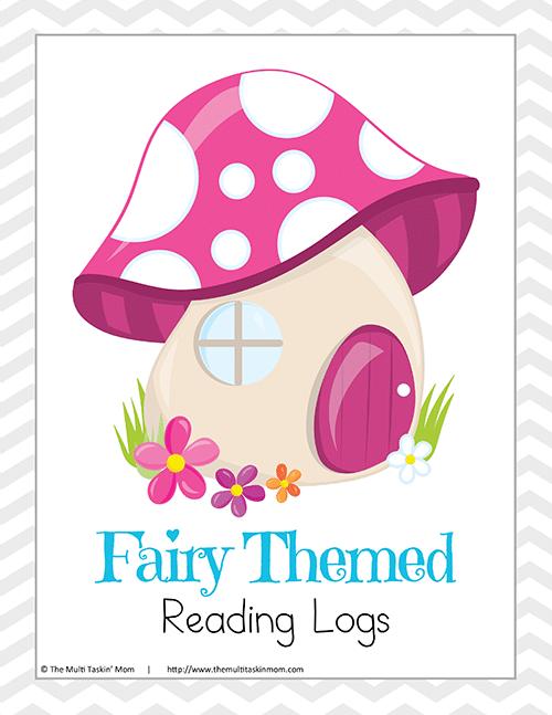 Fairy Themed Reading Log-1