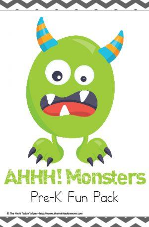 Monsters PreK Pack