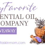 My *New* Favorite Essential Oil Company – PLUS a Giveaway