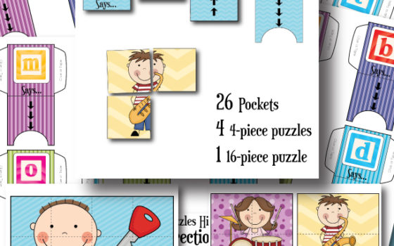 FREE Hide And Seek Lowercase Phonics Game