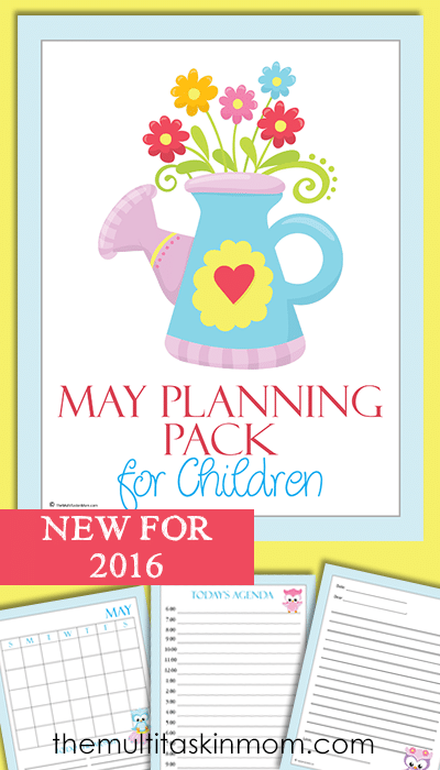 The May Planning Pack for Children 2016